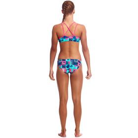 Funkita Criss Cross 2-delige Bikini Meisjes, club tropicana